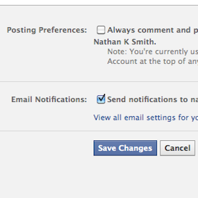 facebook page edit posting preferences