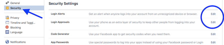 facebook login approvals unrecognized browser